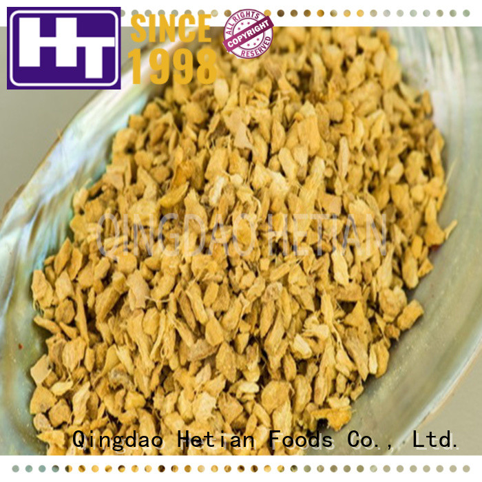 Hetian ginger flakes supplier for restaurant