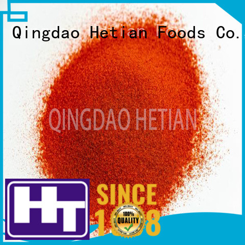 Hetian secure paprika powder promotion for party