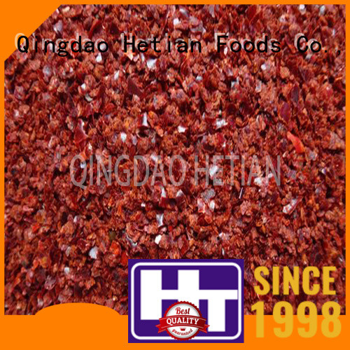 Hetian paprika flakes manufacturer for party