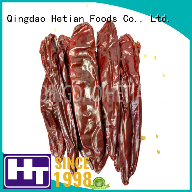 Hetian organic dried paprika on sale for food