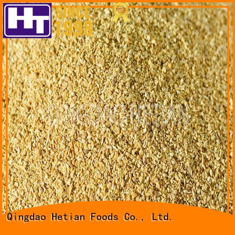 Hetian ginger granules supplier for hotel