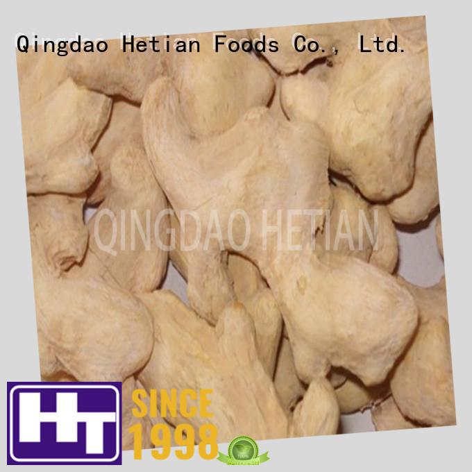 Hetian organic ginger flakes manufacturer for restaurant
