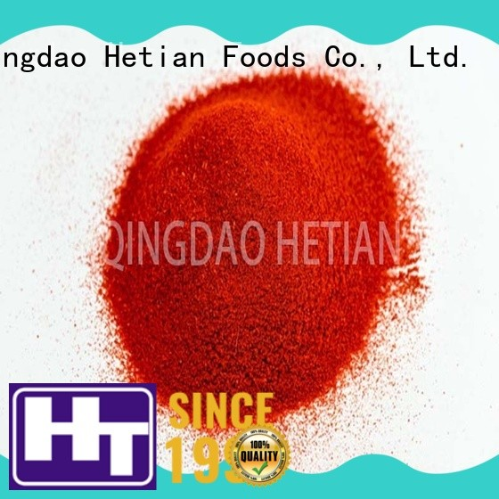 Hetian organic sweet paprika flakes for dining