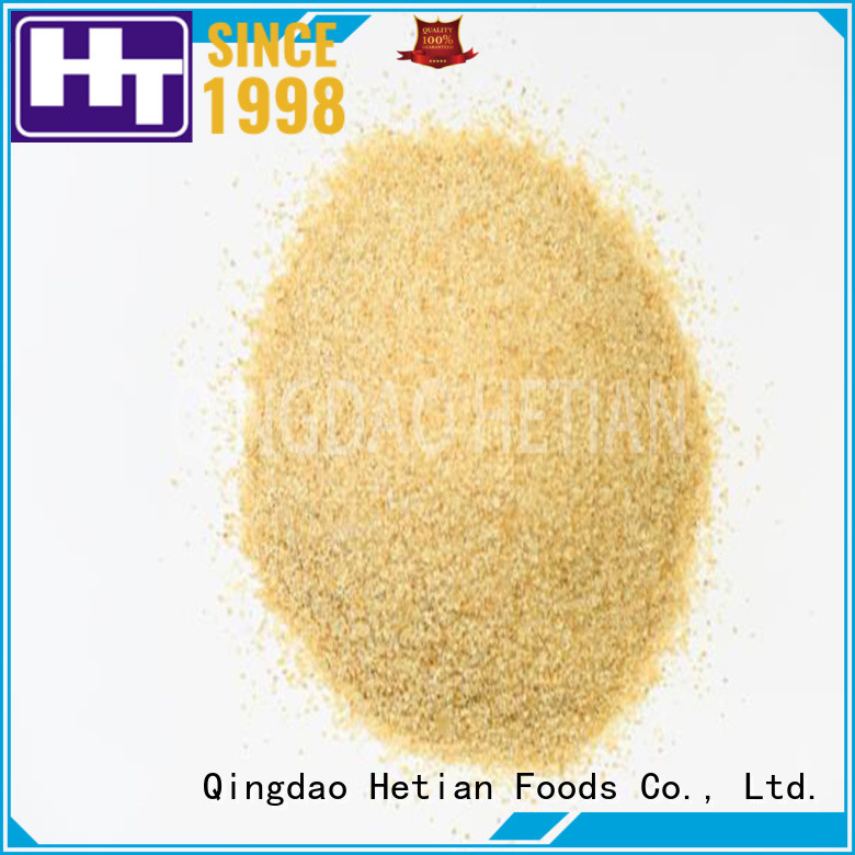 Hetian granulated garlic from China for restaurant