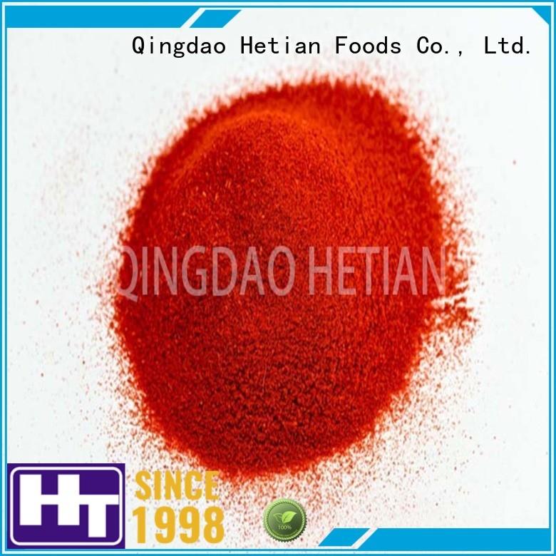 Hetian paprika powder manufacturer for dining