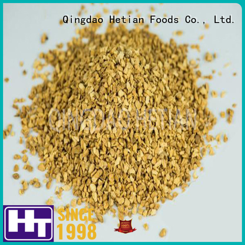 Hetian healthy organic dried ginger granule for hotel