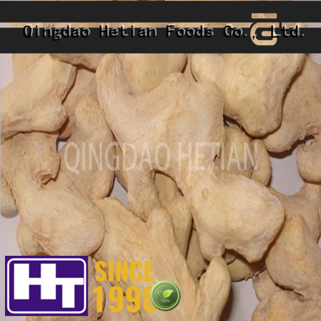 Hetian healthy chopped ginger flakes for restaurant