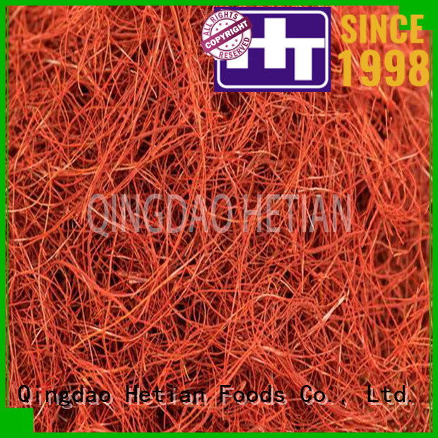 Hetian healthy crushed chilli factory price for home