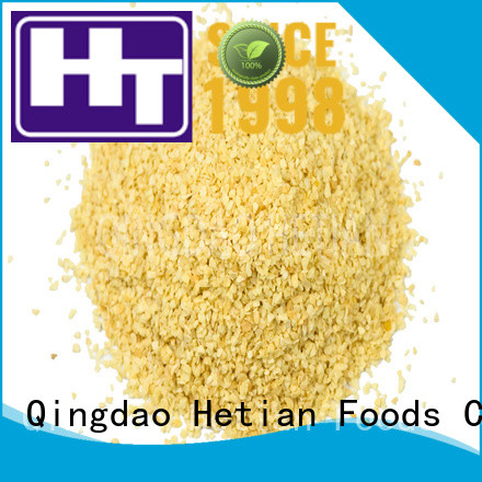 Hetian good quality dried garlic flakes manufacturer for home