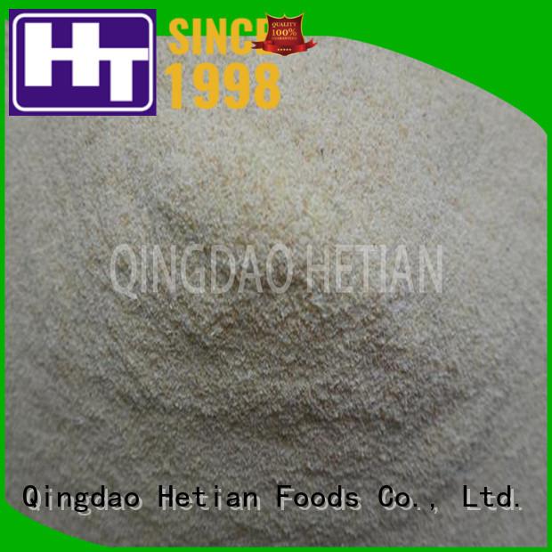 Hetian dried garlic granules wholesale for restaurant
