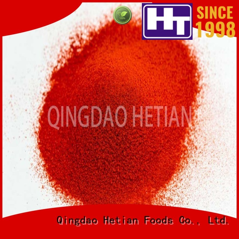 Hetian natural paprika powder on sale for party