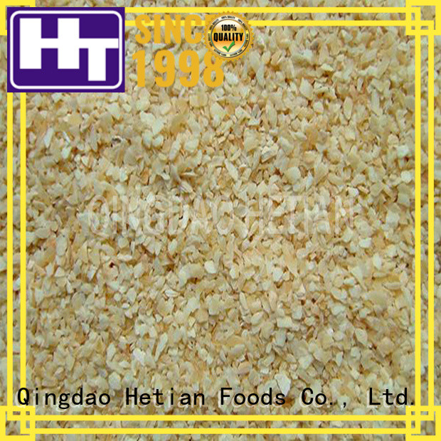 Hetian good quality chopped garlic for shop