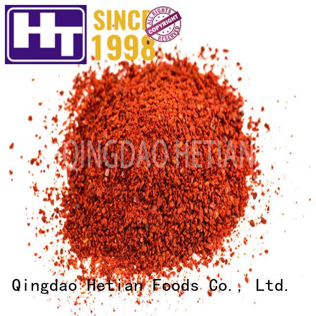 Hetian organic paprika powder on sale for wedding