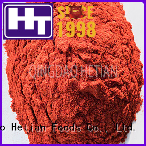 Hetian good quality chili pepper powder factory price for hotel
