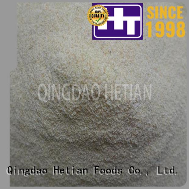 Hetian safe fried garlic flakes for restaurant