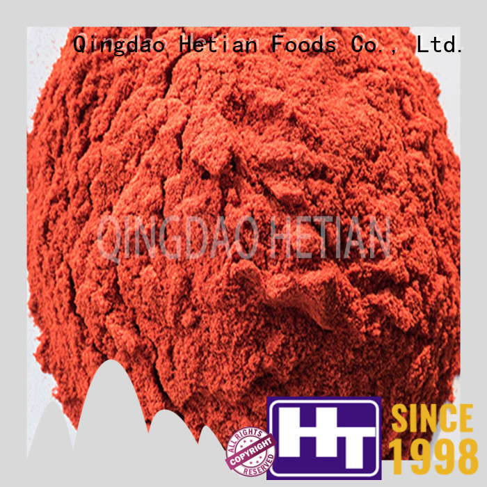 Hetian good quality dry red chilli supplier for home