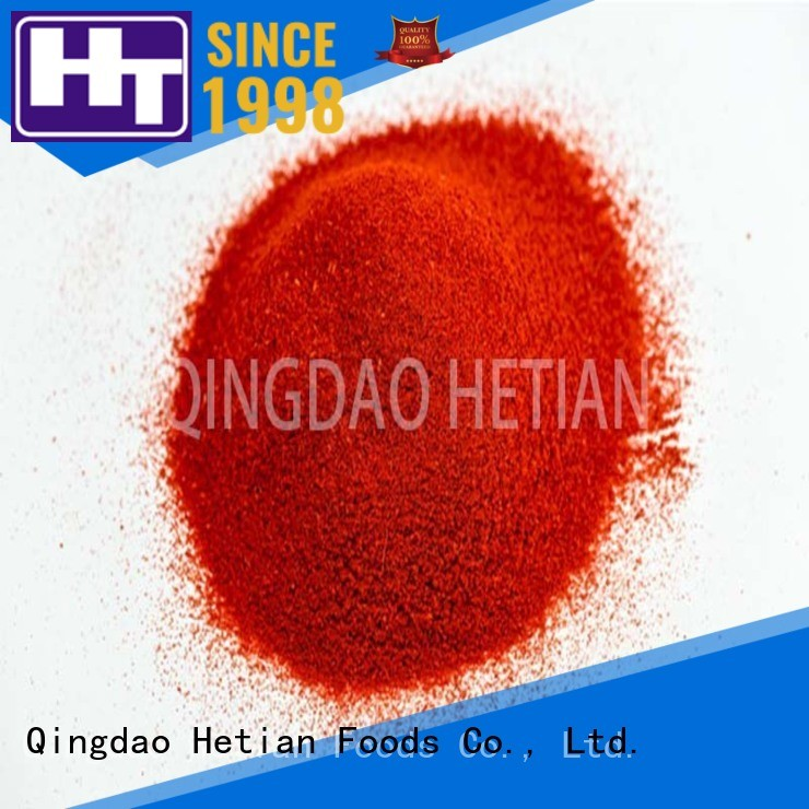 Hetian organic crushed paprika from China for food