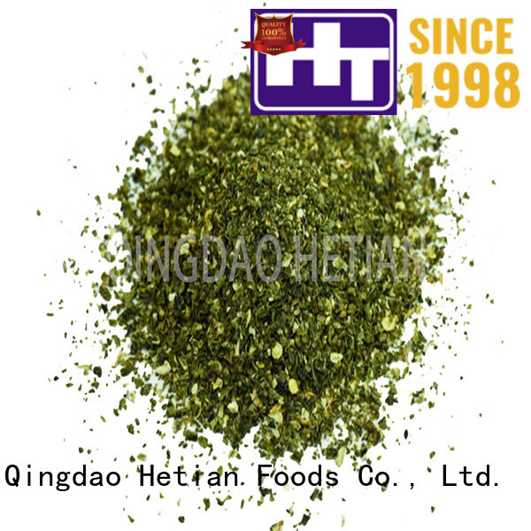Hetian healthy jalapeno pepper flakes on sale for restaurant