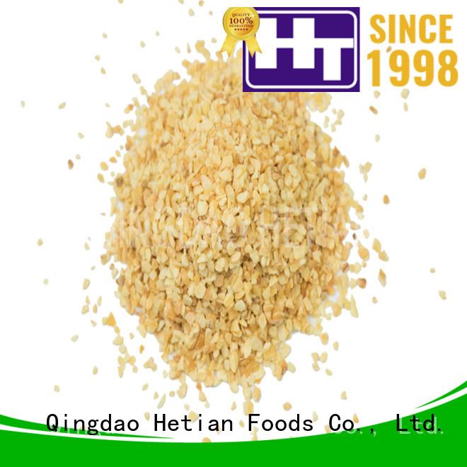 Hetian garlic granules from China for restaurant