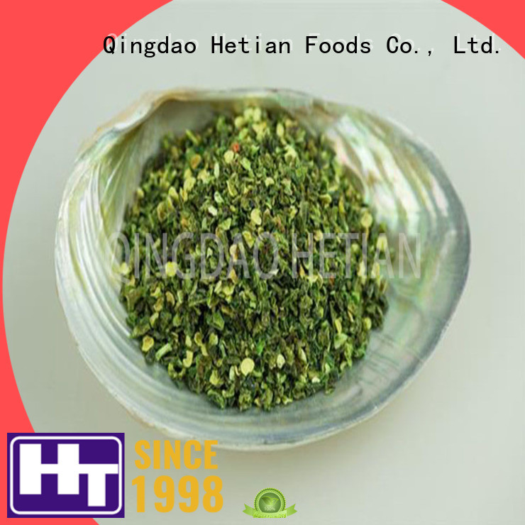 Hetian delicious dried jalapeno flakes wholesale for home