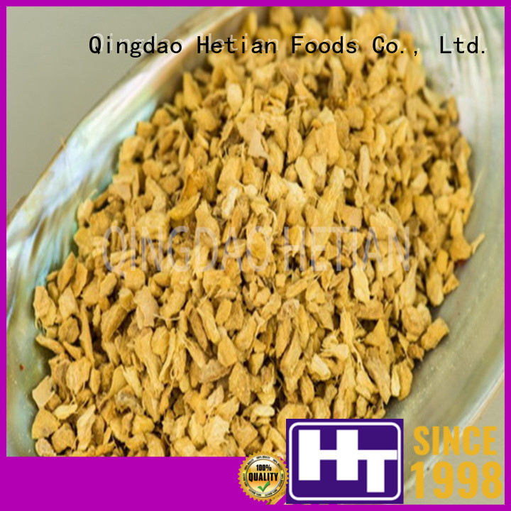 Hetian tasty ginger granules supplier for restaurant