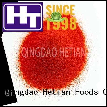 natural paprika powder promotion for dining