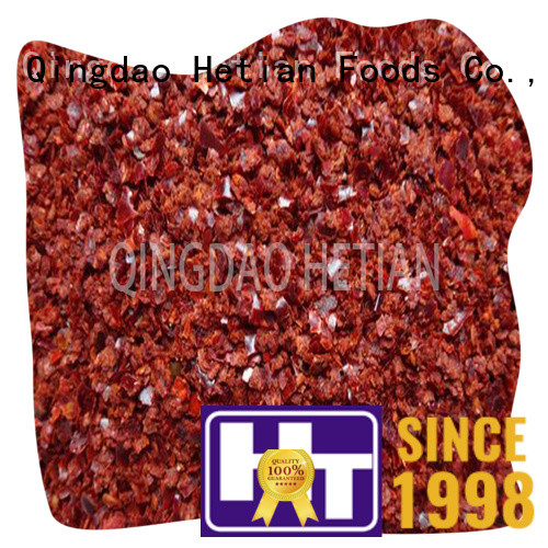 Hetian organic red paprika powder spices for food