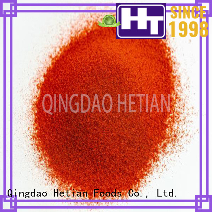 natural paprika powder from China for party