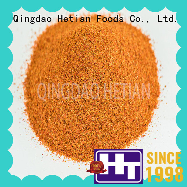 Hetian chili pepper powder factory price for home