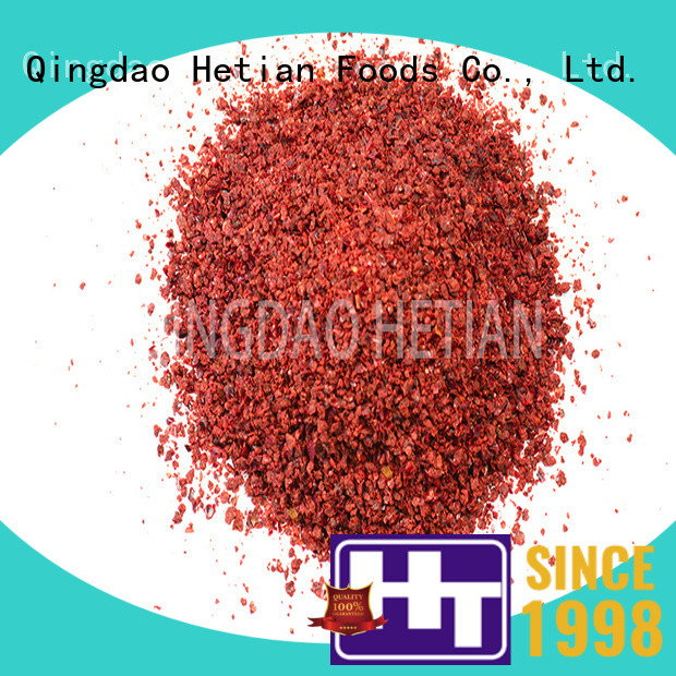 Hetian secure crushed paprika on sale for party