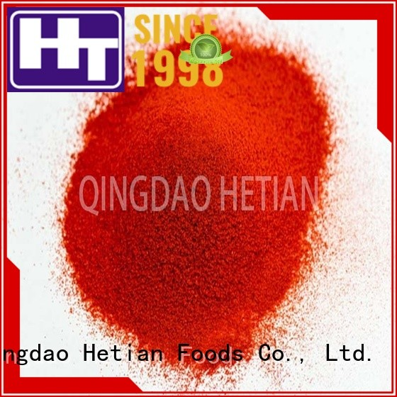 Hetian natural paprika flakes promotion for food