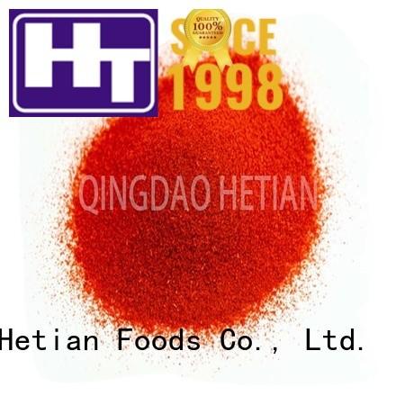 Hetian secure crushed paprika manufacturer for dining