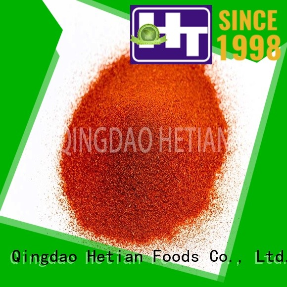 Hetian high quality paprika powder on sale for wedding