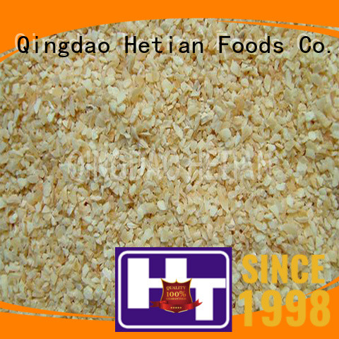 natural dried garlic granules wholesale for hotel