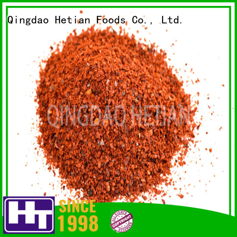Hetian high quality paprika powder on sale for dining