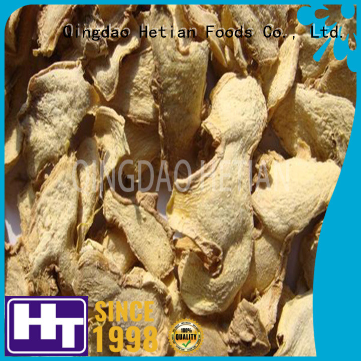 Hetian tasty whole dried ginger wholesale for hotel