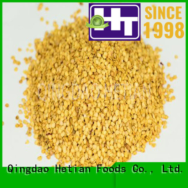 Hetian good quality crushed chili pepper directly sale for home