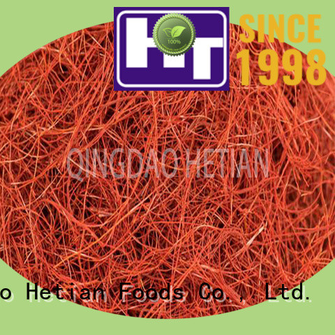 Hetian safe crushed chilli factory price for home