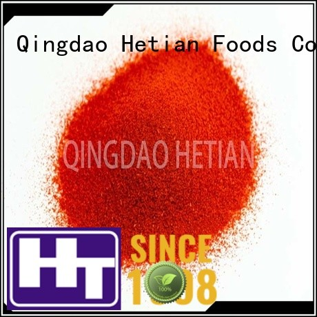 Hetian natural paprika powder from China for wedding