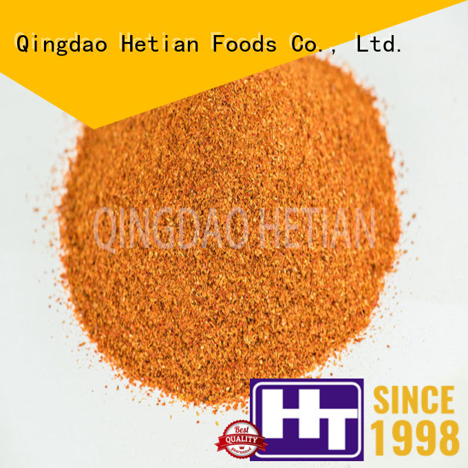 Hetian crushed chilli wholesale for hotel
