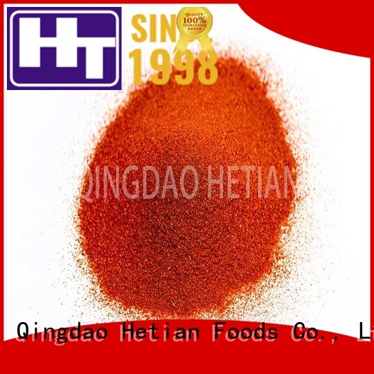 Hetian organic paprika powder from China for party