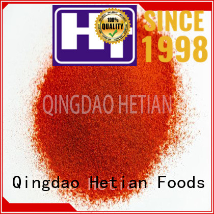 paprika flakes from China for dining Hetian