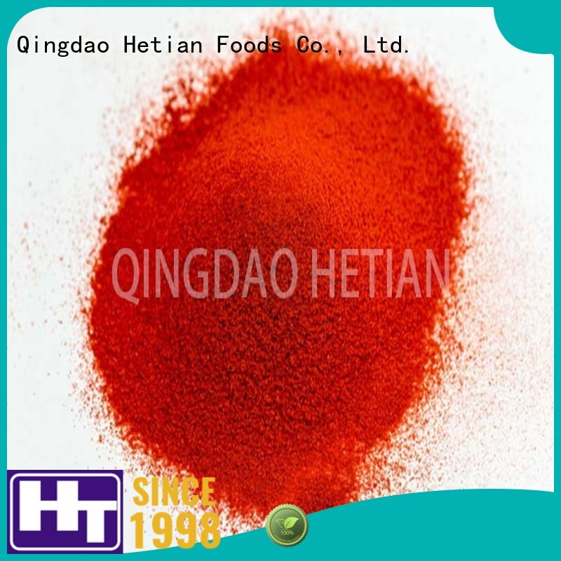 Hetian high quality dried paprika manufacturer for dining