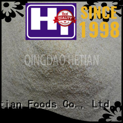 Hetian good quality garlic granules from China for hotel