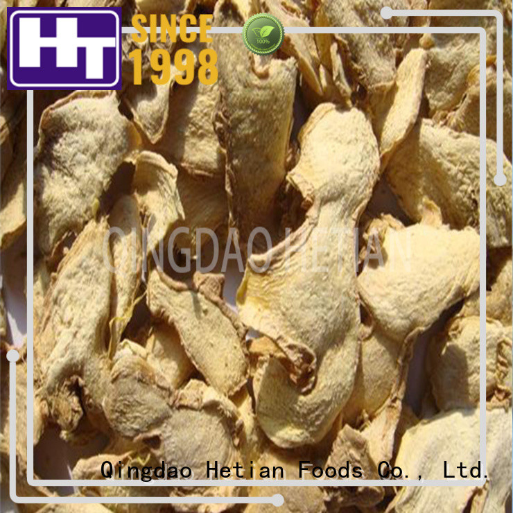 Hetian good quality whole dried ginger supplier for shop