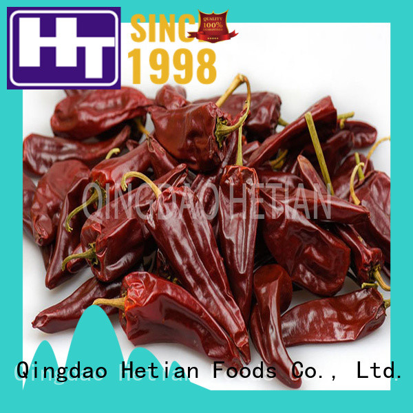 Hetian good quality crushed pepper flakes factory price for restaurant