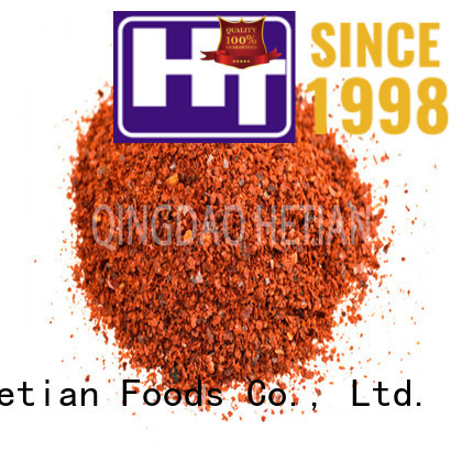 Hetian paprika flakes promotion for dining
