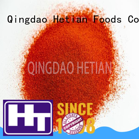 Hetian paprika flakes promotion for food