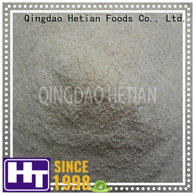 Hetian dried garlic granules manufacturer for hotel